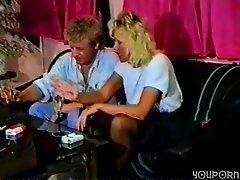 German blonde in vintage porn - Inferno Productions