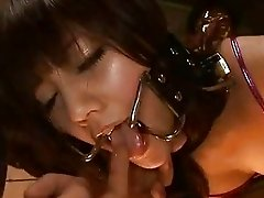 Japanese AV Model in a piss video