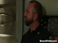 Josh and CJ in horny extreme gay bondage part5