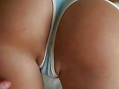 Super beauty amateur Jessie successful first anal