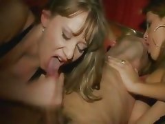 Hot Threesome Fuck with a Shemale