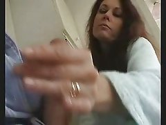 morning handjob & blowjob