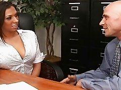 My sexy ass boss Rachel called me into her office
