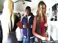 Black Dick Pleasured By Horny White Girl