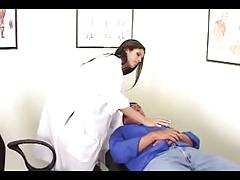 shy love treats her patient