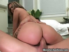 Amazing hot brunette slut with nice butt