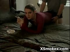 Hottie Girl Smoking Hot Fetish Naughty