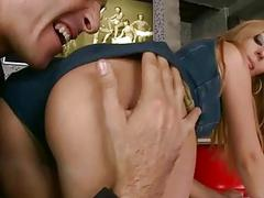 Debbie White fucking three cocks