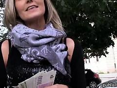 Eurobabe Blanka Grain banged for money