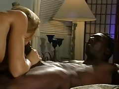 Gorgeous Blonde giving loving Suck to BBC