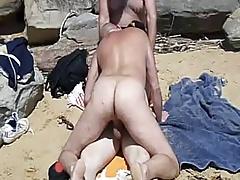 Beach Threesome