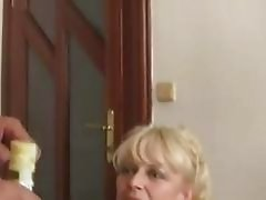 Son watches as his GF licked and fucked by parents