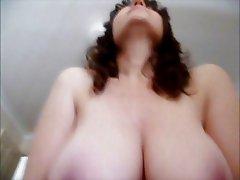 Amanda's Awesome 32DD Tits
