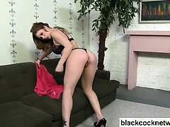 Black cock whore sucking