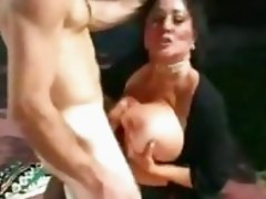 Giant cock banging hot pussy