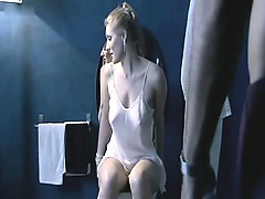 First Anna Jimskaia naked masturbating in bed. Then Anna