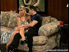Big Tit Blonde Seduction