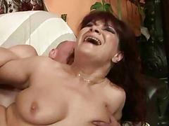 Granny gets her ass rammed