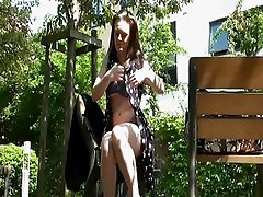 Teen Babes Masturbating In A Public Park