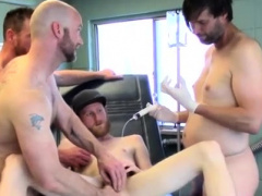 Anal fisting slave gay xxx First Time Saline Injection for C