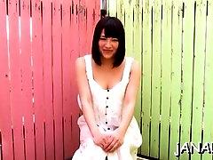 Nude eastern perfection Yuri Sato who likes her sex tool