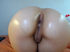 fit tight ass trying to fit a dildo in it cb