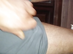 Abspritzen Radlerhose