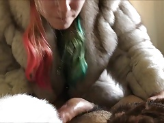 blowjob in fur
