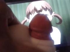 Semen on Picture Nanako