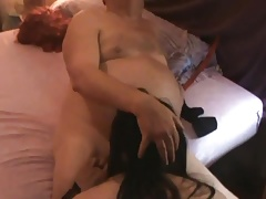 sissy vicky sucks cock