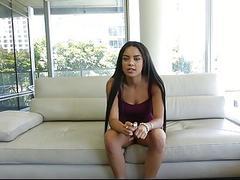 TeenyBlack  Cute Ebony Teen Fucked During Castinh