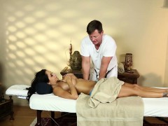 Massaged titfucked milf