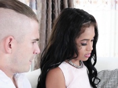 Tiffany Nunez In Brainy Black Bookworm Trades Sex For Studie