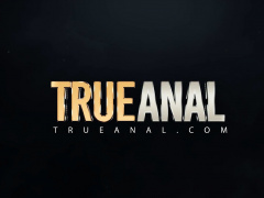 TRUE ANAL Mi Ha Doan first time anal gaping