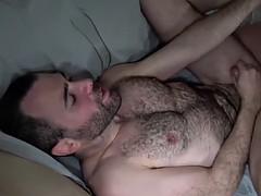 hunky bear bottoms in bareback couple