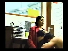 Latina blows dick in-office