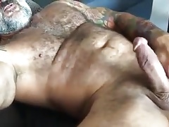 muscle bear daddy's lazy afternoon