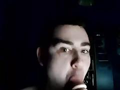 Sucking sissy slut