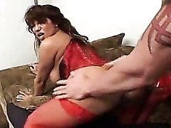 Ava Devine in a sweaty sex scene