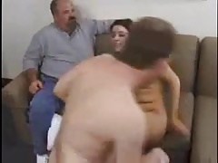 watching his wife fucked by another man.mp4