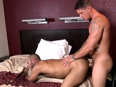 Quick anal romance betwixt homo boyz in need for porn
