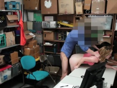 Teen Thieves Bonnie And Maya Get Pounded In Office