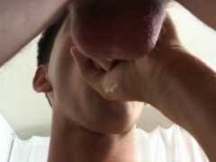 shaving gay He did superb gliding the