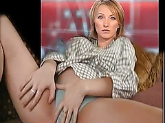 BBC newsreader plays with her pants