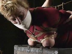BDSM bimbo Alice loves hard pain more than anything BDSM
