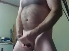 gay bear jacking off