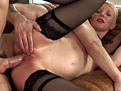 Sexy milf just loves getting her butt fucked hardcore style