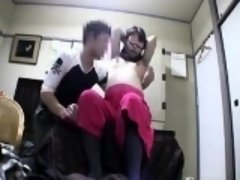 Blindfolded Asian girl has her boyfriend fulfilling her sex