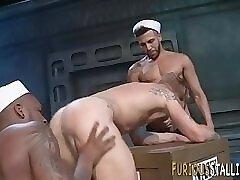 Well hung sailors sperm