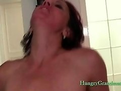 Redhead Mature Loves This Big Cock